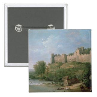 Castillo de Ludlow Pin Cuadrado