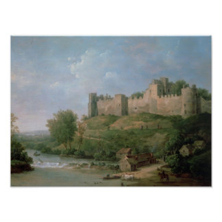 Castillo de Ludlow Póster