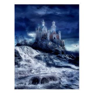 Castillo de mis sueños tarjeta postal