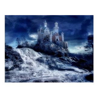 Castillo de mis sueños tarjetas postales