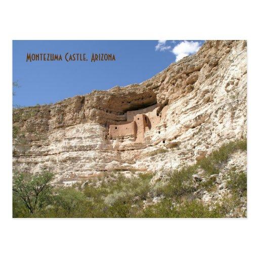 Castillo de Montezuma Tarjeta Postal