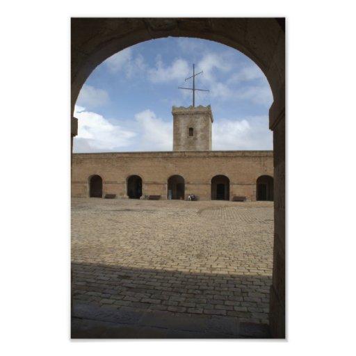 Castillo de Montjuic, Barcelona Fotografías