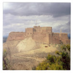 Castillo de Monzon, donde rey James pasó su infanc Azulejo Cuadrado Grande
