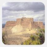 Castillo de Monzon, donde rey James pasó su Pegatina Cuadrada