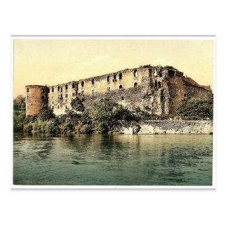 Castillo de Moritzburg, Halle, alemán Sajonia, Ale Postal