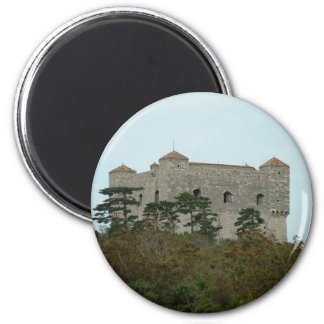 Castillo de Nehaj Imán Redondo 5 Cm