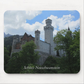 Castillo de Neuschwanstein - Alemania Alfombrillas De Ratón