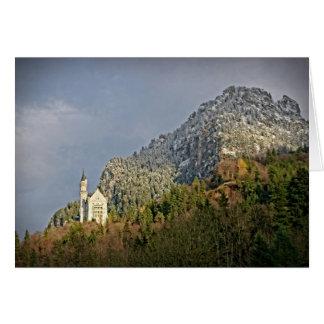 Castillo de Neuschwanstein - Alemania - tarjeta de