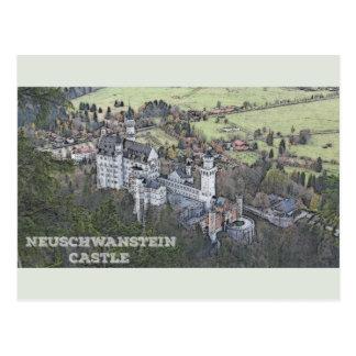 Castillo de Neuschwanstein - Alemania Tarjetas Postales