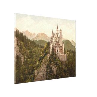 Castillo de Neuschwanstein, Baviera, Alemania Lona Envuelta Para Galerias
