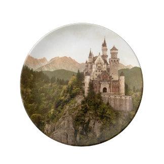 Castillo de Neuschwanstein, Baviera, Alemania Platos De Cerámica