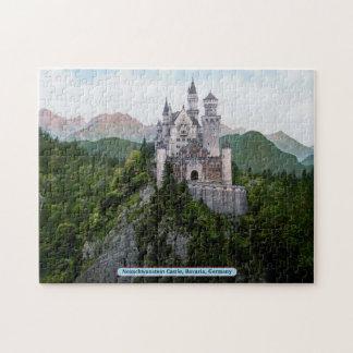 Castillo de Neuschwanstein, Baviera, Alemania Rompecabeza