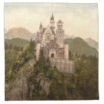Castillo de Neuschwanstein, Baviera, Alemania Servilletas
