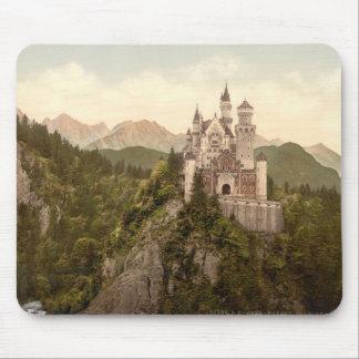 Castillo de Neuschwanstein Baviera Alemania Alfombrillas De Ratón