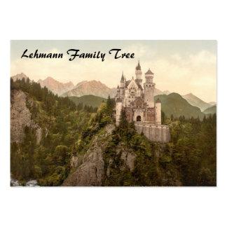 Castillo de Neuschwanstein, Baviera, Alemania Tarjetas De Visita