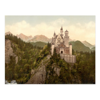 Castillo de Neuschwanstein, Baviera, Alemania Postal