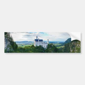 Castillo de Neuschwanstein Pegatina De Parachoque