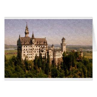 Castillo de Neuschwanstein Felicitación