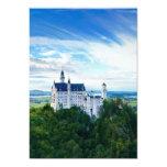 Castillo de Neuschwanstein Invitación 12,7 X 17,8 Cm