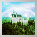 Castillo de Neuschwanstein - la foto de hadas del  Impresiones
