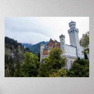Castillo de Neuschwanstein Póster