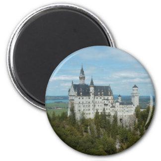 Castillo de Neuschwanstein - Schloss Imán Redondo 5 Cm