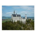 Castillo de Neuschwanstein - Schloss Neuschwanstei Tarjeta Postal