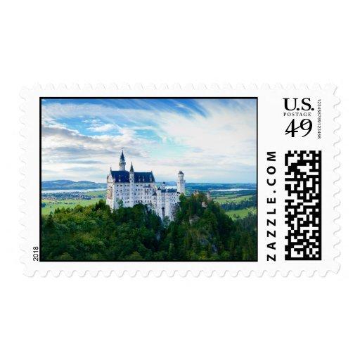 Castillo de Neuschwanstein Sello