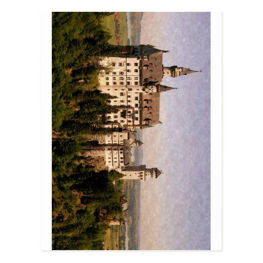 Castillo de Neuschwanstein Tarjeta Postal