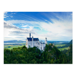 Castillo de Neuschwanstein Tarjetas Postales
