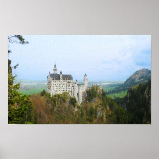 Castillo de Neuschwanstenstein Póster