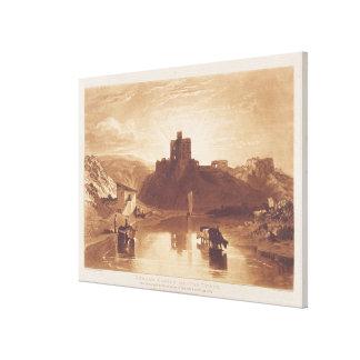 Castillo de Norham, grabado por Charles Turner (17 Lona Estirada Galerias