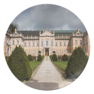 Castillo de Nove Hrady, Bohemia, checa Plato