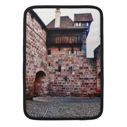 Castillo de Nuremberg Fundas Para Macbook Air