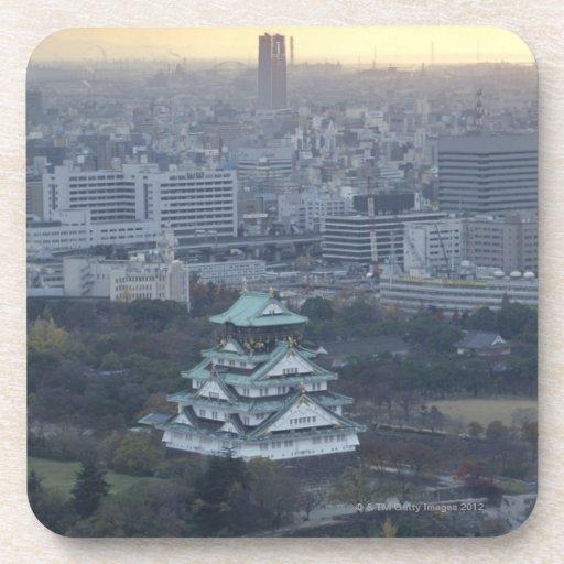 Castillo de Osaka Posavasos De Bebidas