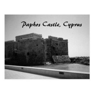 Castillo de Paphos, postal de Chipre