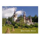 Castillo de Peles, postal de Rumania