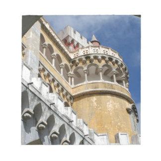 Castillo de Pena, Sintra, Portugal Libretas Para Notas