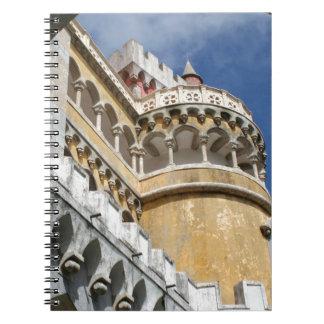 Castillo de Pena, Sintra, Portugal Libreta Espiral