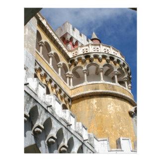Castillo de Pena, Sintra, Portugal Membrete Personalizado