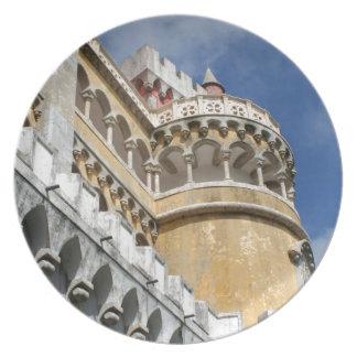 Castillo de Pena, Sintra, Portugal Platos Para Fiestas
