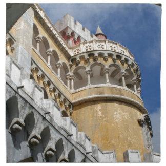 Castillo de Pena, Sintra, Portugal Servilleta Imprimida