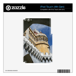 Castillo de Pena, Sintra, Portugal iPod Touch 4G Skins