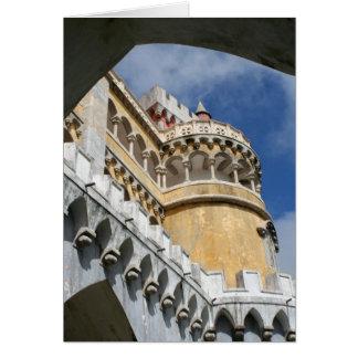 Castillo de Pena, Sintra, Portugal Tarjeta