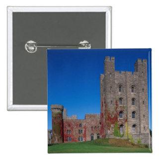 Castillo de Penrhyn, Gwynedd, País de Gales 2 Pin Cuadrado