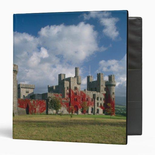 "Castillo de Penrhyn, Gwynedd, País de Gales Carpeta 1 1/2"""