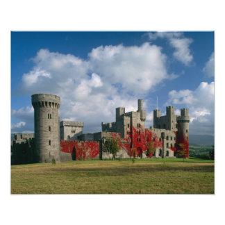 Castillo de Penrhyn, Gwynedd, País de Gales Fotografías