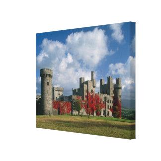 Castillo de Penrhyn, Gwynedd, País de Gales Lona Envuelta Para Galerias