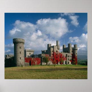 Castillo de Penrhyn, Gwynedd, País de Gales Póster