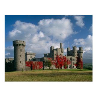 Castillo de Penrhyn, Gwynedd, País de Gales Tarjeta Postal